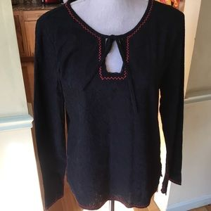Lucky Brand peasant style shirt